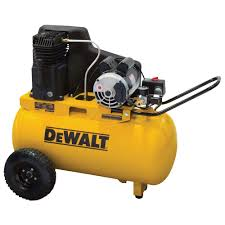 portable horizontal electric air compressor