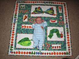 Traditional Quilts - & Bradley's Very Hungry Caterpillar quilt Adamdwight.com