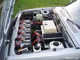Image Siemens Great Shot Of The Kiwi Ev Engine Bay Kiwievcom The Original Kiwi Ev Electric Car Conversion