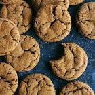 a  molasses ginger snaps