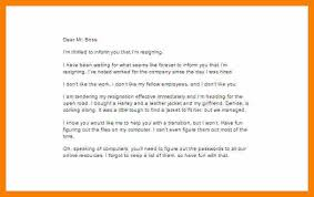 Resignation Letter: Funny Hillarious Resignation Letters Formats ...