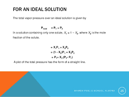 total pressure equation chemistry. s h a r d p u b l i c o , m 24; 25. for an ideal solution the total vapor pressure equation chemistry