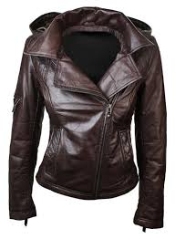 brown leather jacket for women previous next