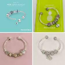 How To Design Your Pandora Bracelet Create Your Pandora Open Bangle Explore This New Bracelet