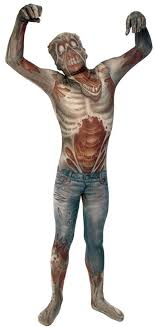 Morphsuit Size Chart Boys Zombie Morphsuit Mh09771
