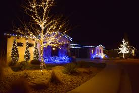 Warm Led Tree Lights Silver Bells Christmas Light Installation Professionals