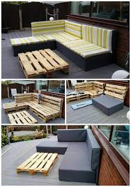 Furniture ideas with pallets Lounge 101 Pallet Ideas Diy Pallet Upholstered Sectional Sofa Tutorial