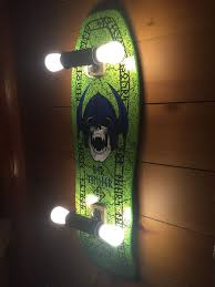 Skateboard accessories for bedrooms