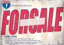 For Sale Signs E Automobile Ads