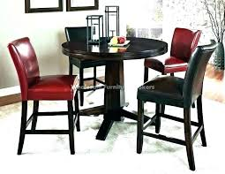 9 piece counter height dining set with lazy susan round counter height dining table set sets