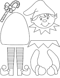 Small Picture Elf On The Shelf Coloring Pages Page 1 christmas Pinterest