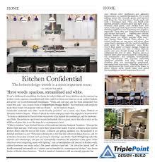 Triplepoint Design Build Kitchen Confidential Magazine Article Triplepoint