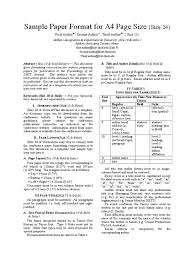 Exelent Resume Margins And Font Size Photo Examples Professional