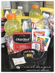 novel designs llc of las vegas las vegdy recovery gift basket