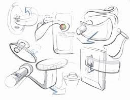 concepts for a door handle that caters to an aging potion