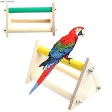 bird perch stand pet parrot bird perch stand play toys gym wooden activity table bird perch bird perch