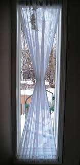 Kitchen Window Curtain Panels Window Treatments For Tall Narrow Windows Window Treatments For