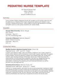 Nurse Resume Example 2019 A Good Resume 54364 Densatilorg