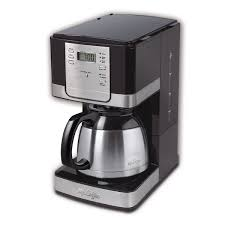 mr coffee advanced brew 8 cup programmable coffee maker with thermal carafe black