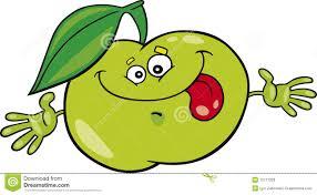 Pomme De Dessin Anim Illustration De Vecteur Illustration Du Dessin De Pomme L