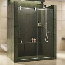 frameless sliding shower doors. Simple Doors DreamLine Enigma 56 In To 60 X 79 Frameless Sliding Shower With Doors G