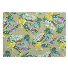 jungle tufted rug
