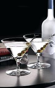 waterford martini glasses one pair crystal