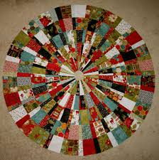 Quilted Christmas Tree Skirt Pattern Simple Decorating Ideas