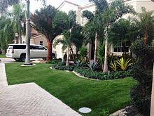 Artificial grass Turf Homes Yard With Artificial Grass Artificial Turf Wikipedia