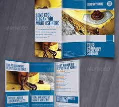 trifold brochure indesign template 45 creative premium brochure template designs 56pixels com