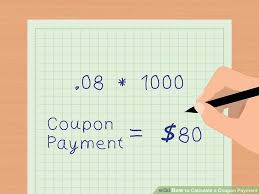 Payment Coupon Template Amazing How To Calculate A Coupon Payment 48 Steps With Pictures
