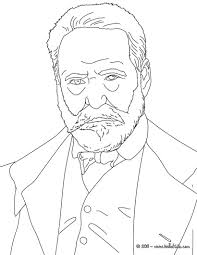 Victor Hugo Coloring Page This Victor