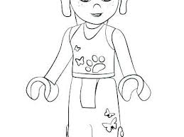 Lego Friends Coloring Pages Waggapoultryclub