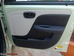 basic door pads now get dual tone colours thin long deep door pockets