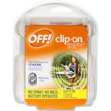 Off Clip On Mosquito Repellent image