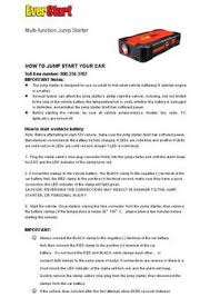 everstart multi function jump starter & battery charger everstart 1200a manual at Everstart Battery Charger Wiring Diagram