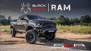 RAM BLACK WIDOW LIFTED TRUCKS — SCA Performance | Black ...