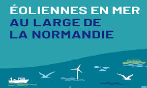 En mer, en Normandie, de nouvelles éoliennes ? Ouverture du débat public le  15 novembre !   La préfecture et les services de l'État en région Normandie