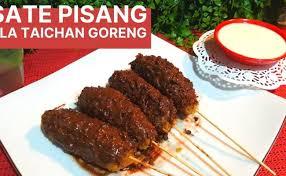 Resep sate pisang ala sate taichan goreng rachel venya загрузил: Resep Sate Pisang Fla Ala Taichan Goreng Versi Ibu Cute766