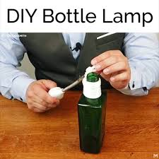Diy Hanging Lamp Made Using Old Bottles Facebook
