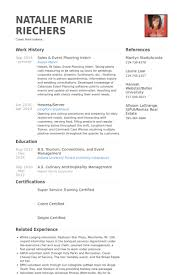 Event Planning Resume Samples VisualCV Resume Samples Database Gorgeous Resume Event Planning