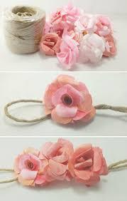 Paper Flower Garland Diy Paper Rose Garland Alana Jones Mann