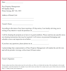 day notice letter sles from landlord to intent sle tenant exle template apartment termination vacate