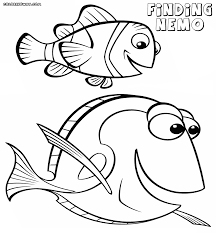 Finding Nemo coloring pages | Coloring pages to download and print