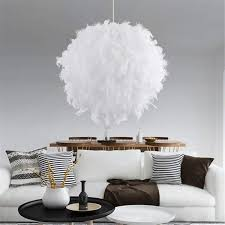 Xsrkhome 40 Cm Ball Form Pvc Feder Hängende Lampe Moderne