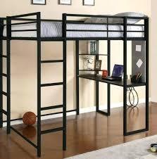 loft bed desk best black metal loft bed with desk inspirations twin loft bed with desk