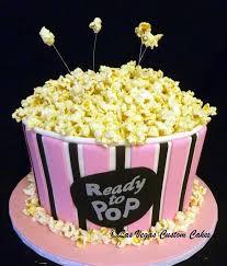 Popcorn Baby Shower Popcorn Baby Shower Cake