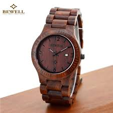 aliexpress com buy bewell wooden watch men women watch brand aliexpress com buy bewell wooden watch men women watch brand fashion quartz wood watch waterproof luminous wristwatch calendar relogio from reliable