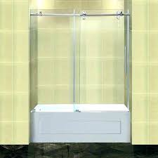 how to install bathtub sliding glass doors bath tub sliding doors bathtub shower doors completely tub