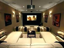 Living Room Theaters Interesting Media Room Decorating Ideas Movie Decor Best Themed Rooms On